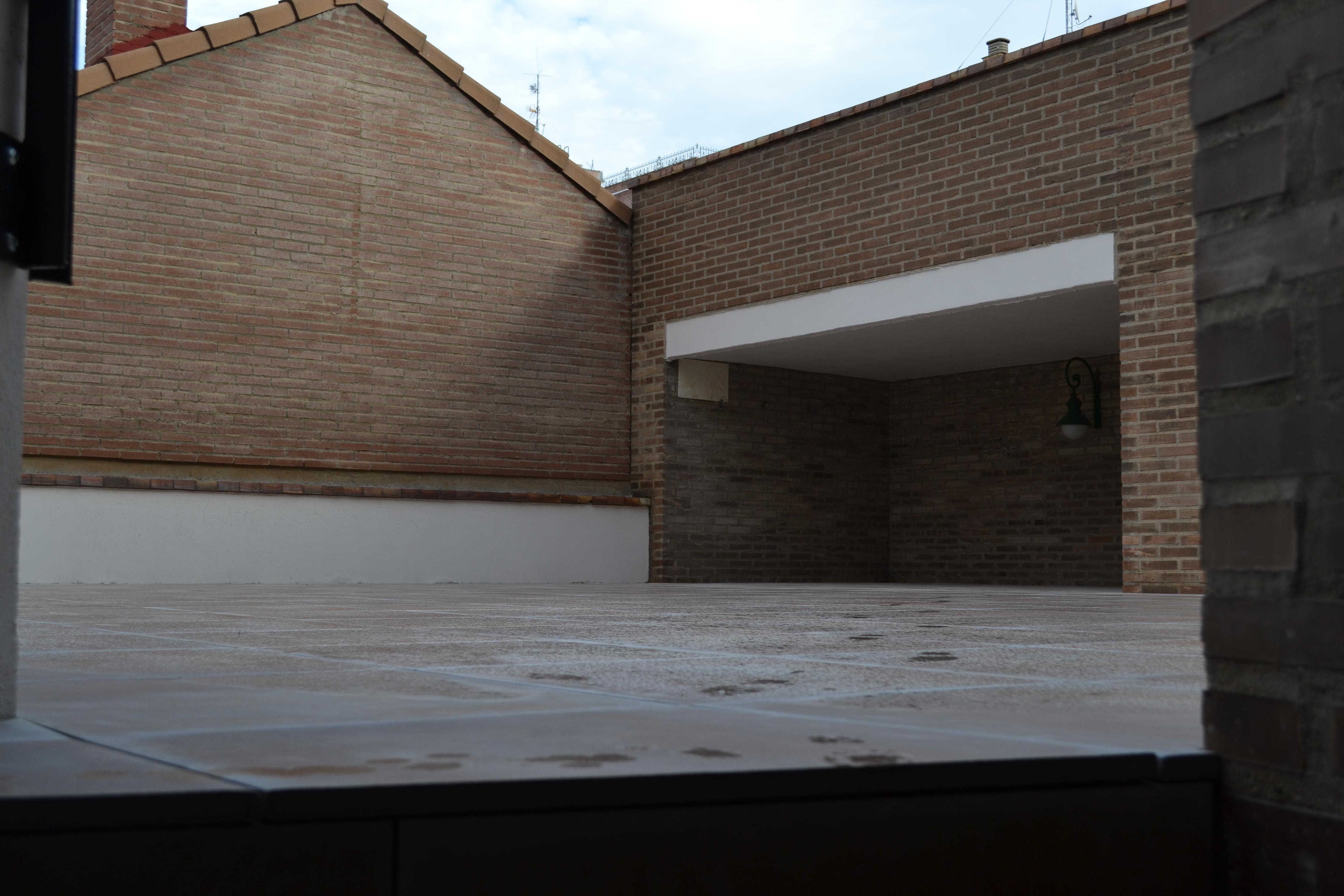 Terraza 1 Colegio Mayor Peñalba