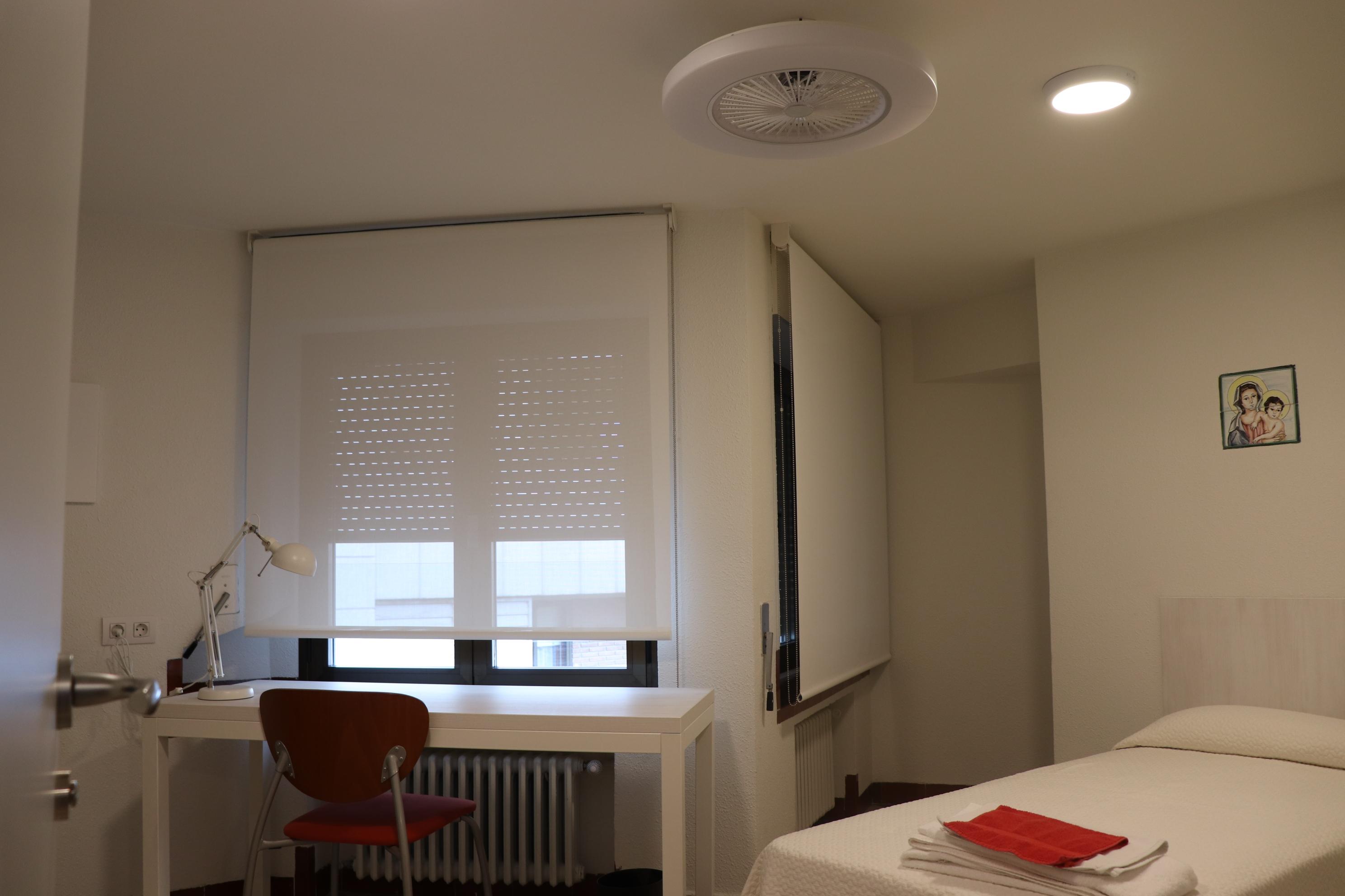 habitacion 2 Colegio Mayor Peñalba