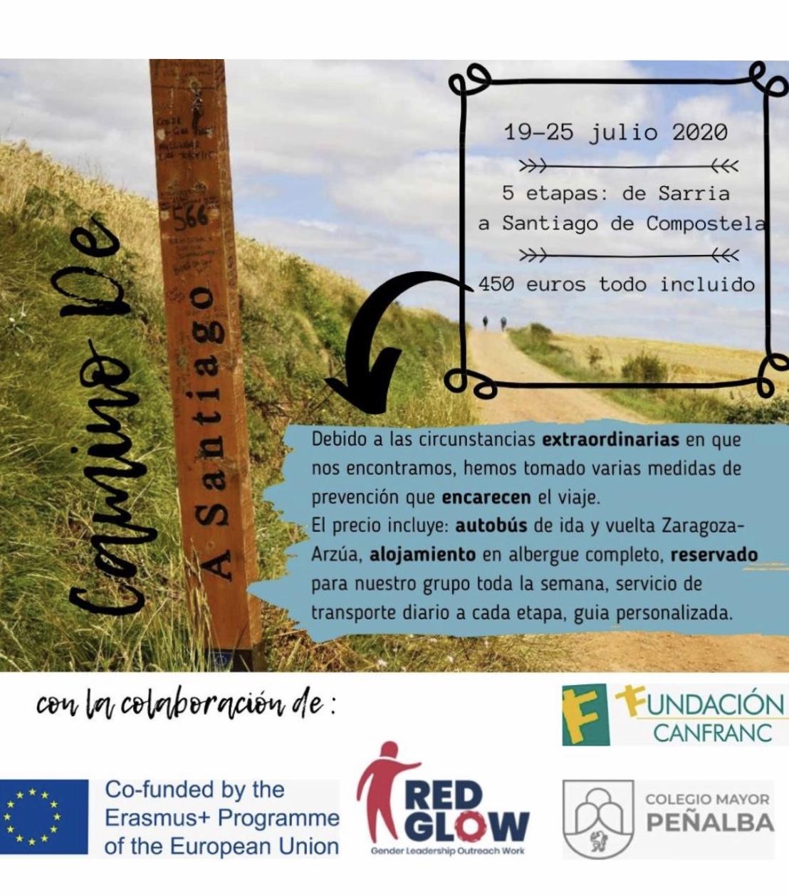 Camino de Santiago verano 20